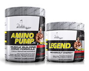 JAY CUTLER ELITE SERIES STACK: AMINO PUMP + LEGEND